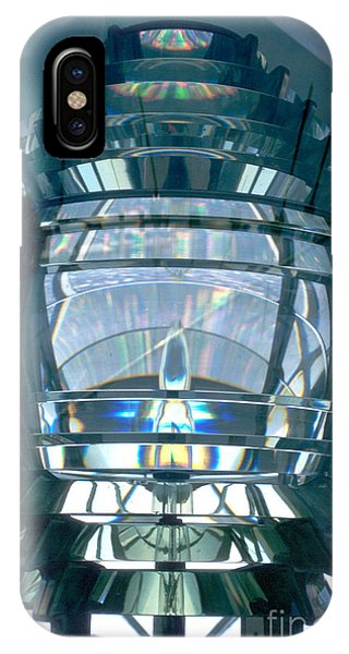 Lighthouse Wall Decor iPhone Case - Fresnel Lens by Jerry McElroy