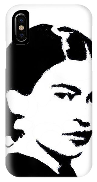 Frida Black And White IPhone Case