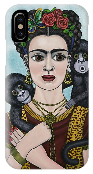 Frida In The Sky IPhone Case