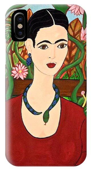 Frida With Vines IPhone Case