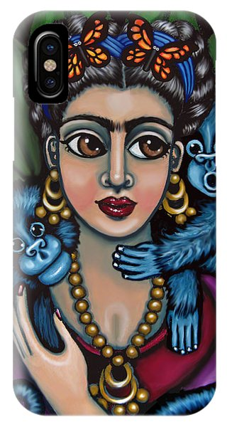 Frida's Monkeys IPhone Case