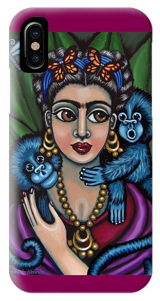 Frida's Monkeys IPhone Case