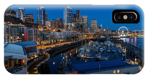 Friday Night In Seattle IPhone Case