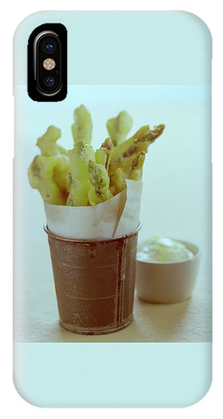 Fried Asparagus IPhone Case