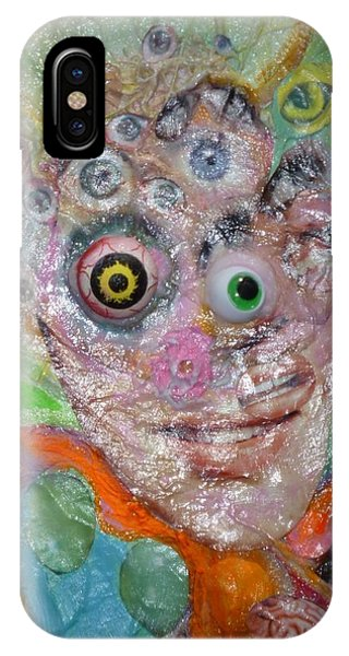 Fried Face IPhone Case