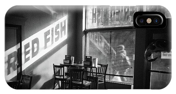 Street Light iPhone Case - Fried Fish by William Spangler