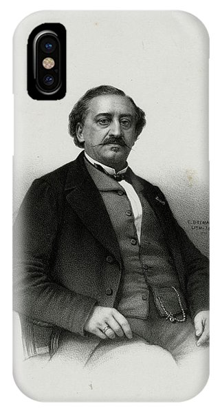 Friedrich Von Flotow  German Musician Phone Case by Mary Evans Picture Library