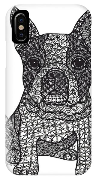 Friend - Boston Terrier IPhone Case