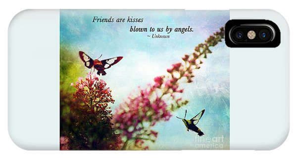 Friends Are .....  IPhone Case