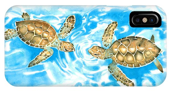 Friends Baby Sea Turtles IPhone Case