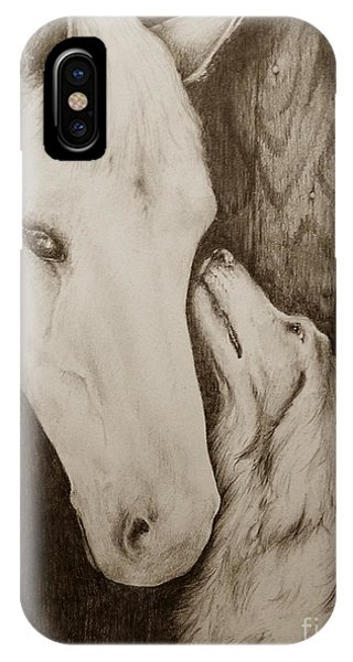 Friends In Sepia IPhone Case
