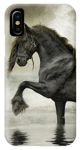 Friesian Surf  IPhone Case