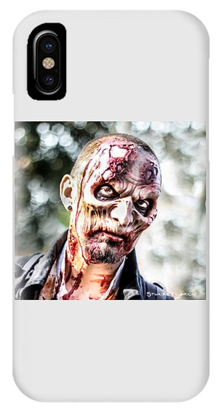 IPhone Case featuring the photograph Frightfulness Bones by Stwayne Keubrick