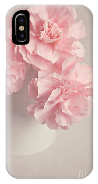 Frilly Pink Carnations IPhone Case