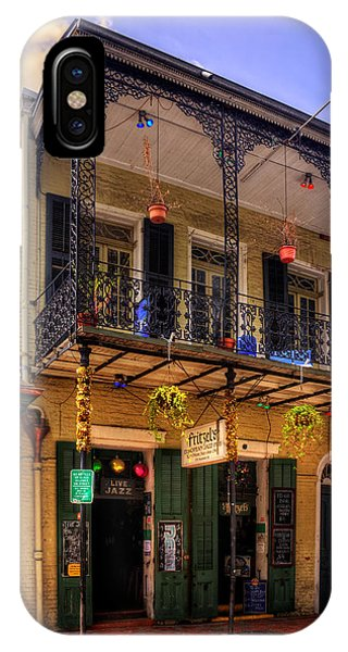 Fritzel's European Jazz Pub New Orleans IPhone Case