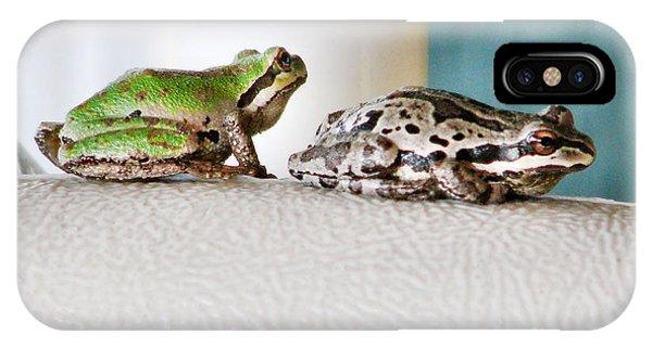 Frog Flatulence - A Case Study IPhone Case