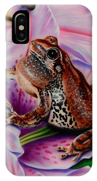 Frog Flower IPhone Case