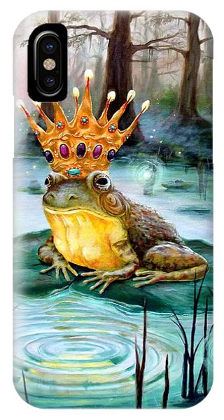 Frog Prince IPhone Case