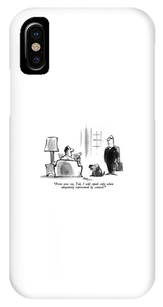From Now IPhone Case