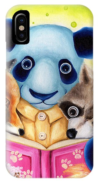 From Okin The Panda Illustration 10 IPhone Case