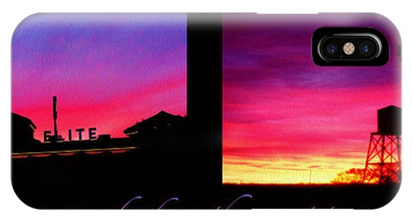 From Sunset To Sunrise IPhone Case
