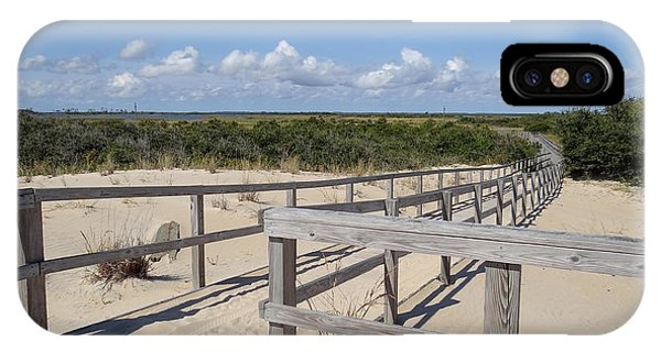 From The Dunes To The Marsh IPhone Case