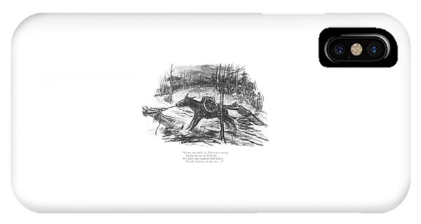 From The Halls Of Montezoo-ooma IPhone Case