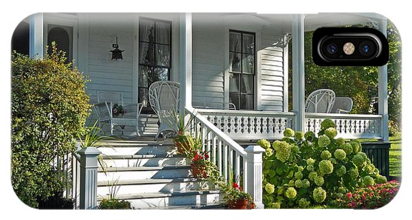 Front Porch In Summer IPhone Case