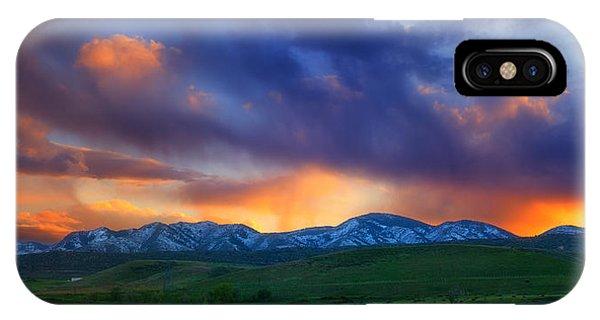 Front Range Light Show IPhone Case