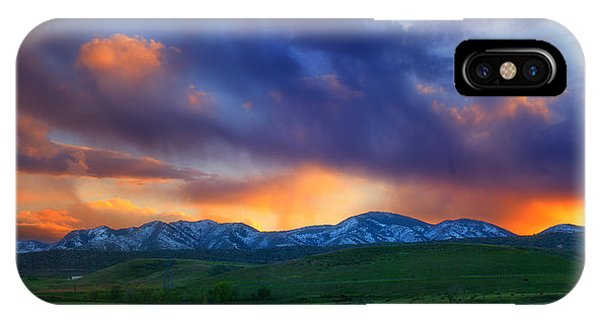 Front Range Light Show IPhone Case