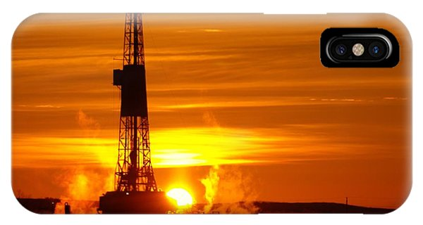 Frontier Nineteen Xto Energy Culbertson Montana IPhone Case