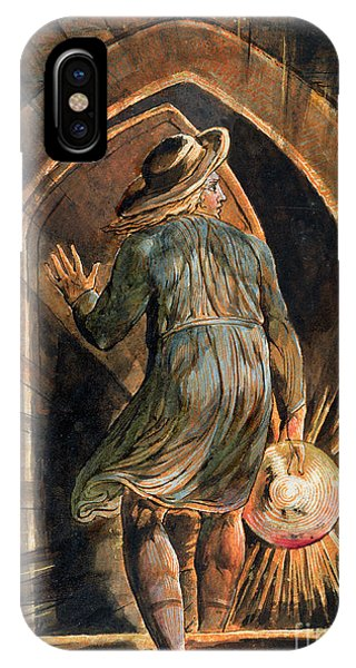 Disc iPhone Case - Frontispiece To Jerusalem by William Blake