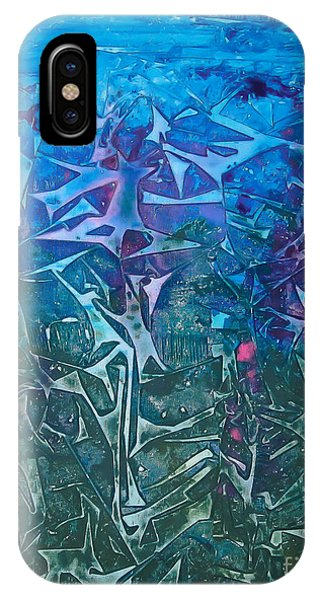 Lagoon Bloom IPhone Case