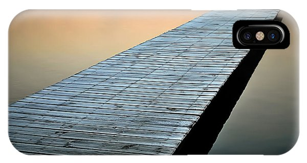 Frost On The Dock IPhone Case