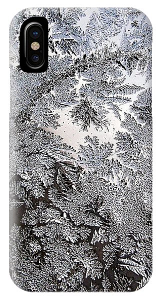 Frost Glass iPhone Case - Frosted Glass Abstract by Christina Rollo