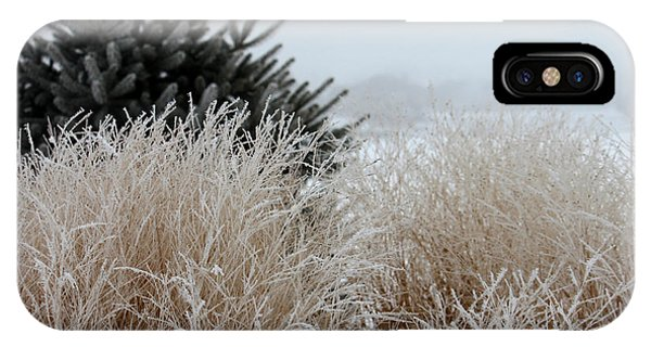 Frosted Grasses IPhone Case
