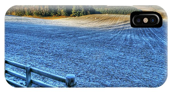 Frosty Day In West Lothian IPhone Case