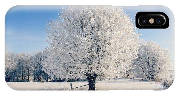 Frosty Glow IPhone Case
