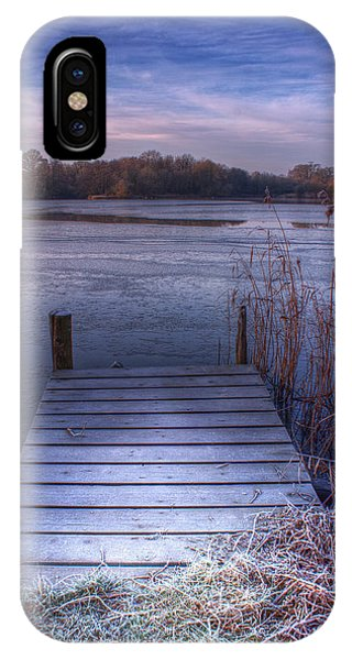Frosty Jetty IPhone Case