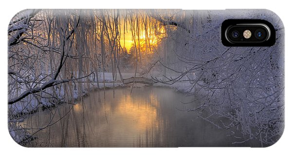 Frosty Morn 2 IPhone Case