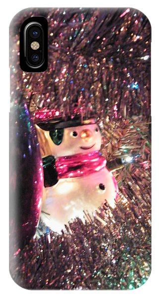 Frosty Snowman IPhone Case
