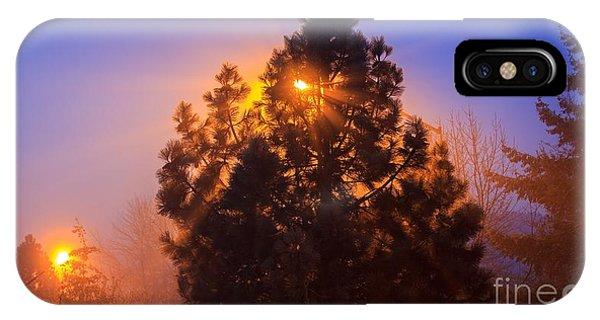 Frosty Sunrise 2 IPhone Case