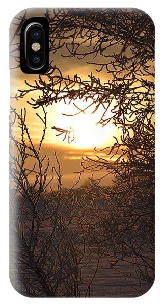 Frosty Sunrise IPhone Case