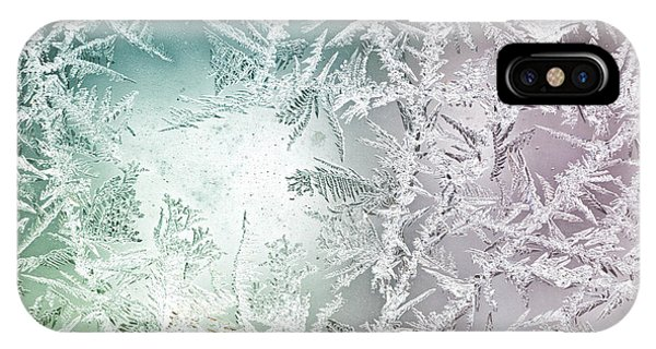 Frost Glass iPhone Case - Frosty Windowpane by Amy Cicconi