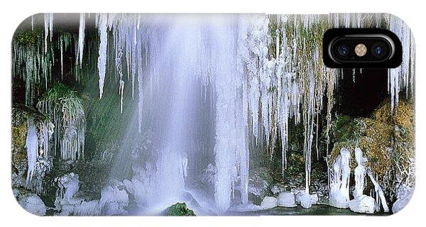 Frozen Beauty Aka Ice Is Nice Xi IPhone Case