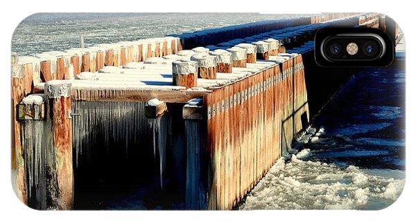 Frozen Breakwater IPhone Case