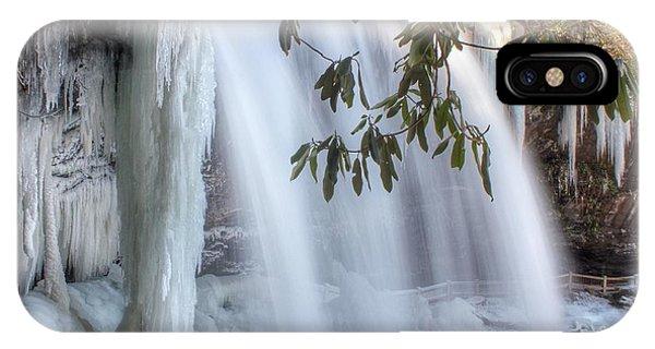 Frozen Dry Falls IPhone Case