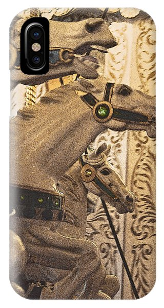 IPhone Case featuring the photograph Frozen Gaits by Jani Freimann