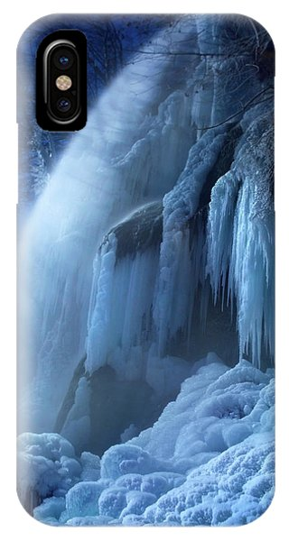 Frozen In The Moonlight IPhone Case