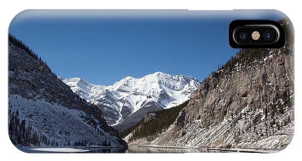 Frozen Lake Of Beauty IPhone Case